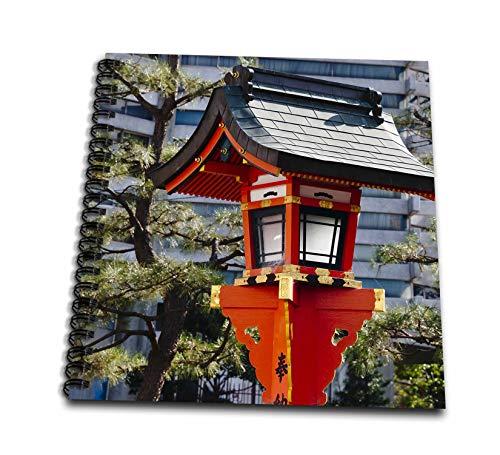 - 3dRose Danita Delimont - Japan - Red lantern in Fushimi Inari Shrine, Kyoto, Japan - Memory Book 12 x 12 inch (db_312771_2)