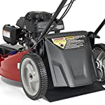 Jonsered L2821, 21 in. 160cc GCV160 Honda 3-in-1 Walk Behind Front-Wheel-Drive Mower 11 Powered by 160cc Honda GCV160 engine with 6.9 ft-lbs Gross torque Dual trigger control system allows you to operate with either hand, or split the effort between both. High-tunnel cutting deck design delivers premium cut quality and bagging performance while providing a close trim, every time.