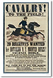 Amazon Com Civil War Recruiting Poster Reproduction