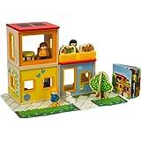 Hape City Family Doll House