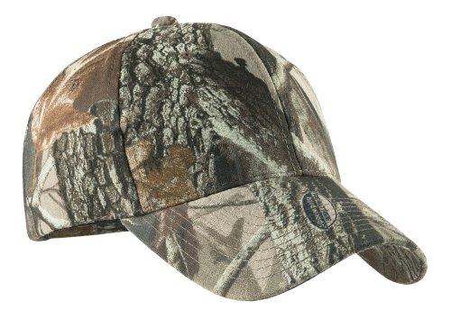 Joe's USA(tm Camo Camouflage Cotton Poly Adjustable Hat Caps- Real Tree Hardwoods