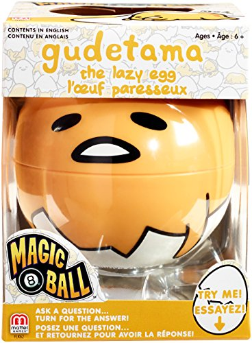 Mattel Games Magic 8 Gudetama The Lazy Egg ()