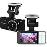 Car Dash Camera - HEIHEI Dashboard Camera Recorder, 1080P Front Dash Cam Camcorder, 2.7 inch Large Screen, 170 Degree Wide Angle Car Camera with Loop Recording, Motion Detection, G-Sensor