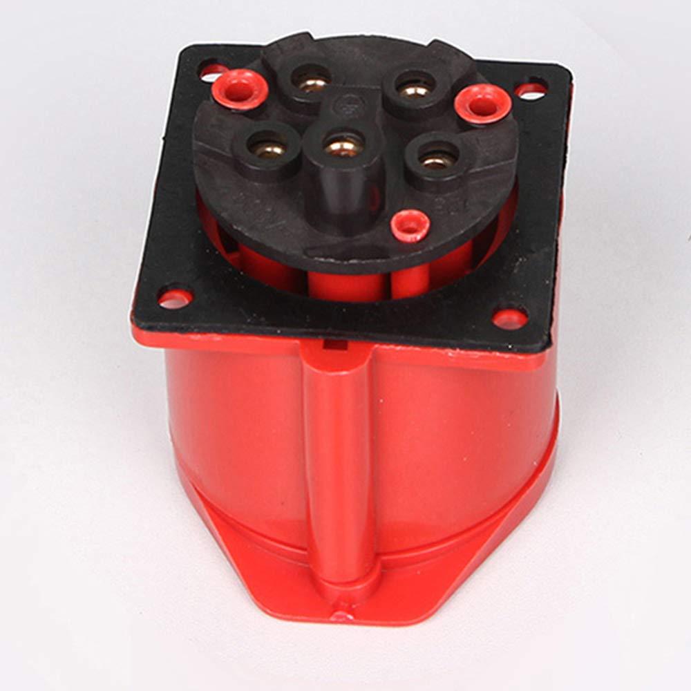 E IP44 Fefaxi 4-Pin Tilt Wandsteckdose 380v 3p Rot 32a Wasserdichte Buchse Gerade