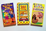 Classic Cartoons Collection #27 (3pk): Children's Musical Theatre; Mother Goose; Sing Along Songs