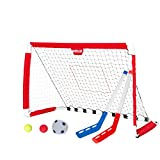 Soccer Goal and Pitch Back - Indoor & Outdoor Youth Soccer Goal Net for Kids