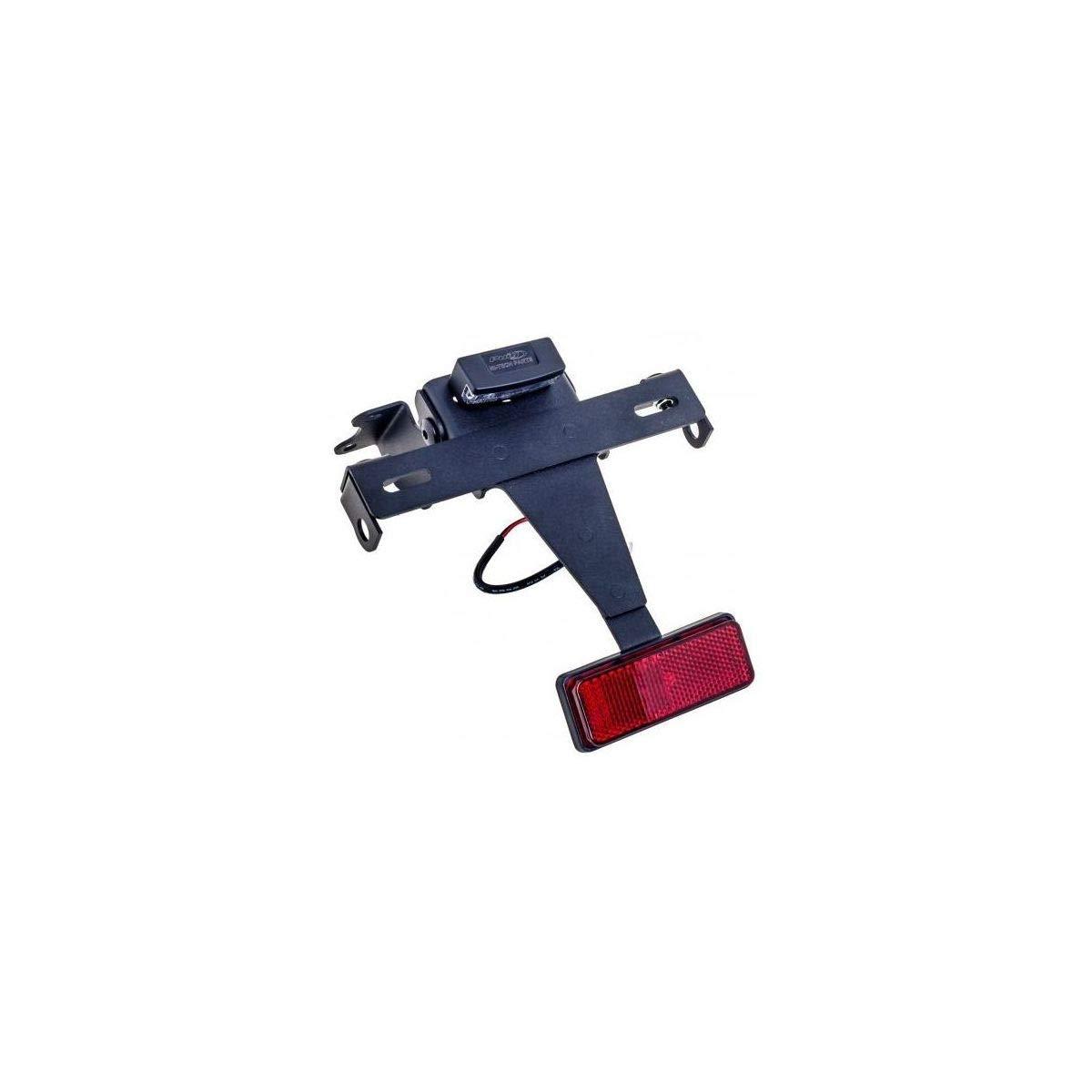 17-18 DUCATI MON797: Puig Fender Eliminator Kit (Black) 9496N