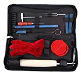 Piano Tuning Tool ,UMsky 10 Piece Professional Piano Tuning Kit Including Tuning Hammer Mute Wrench Hammer Handle and Case