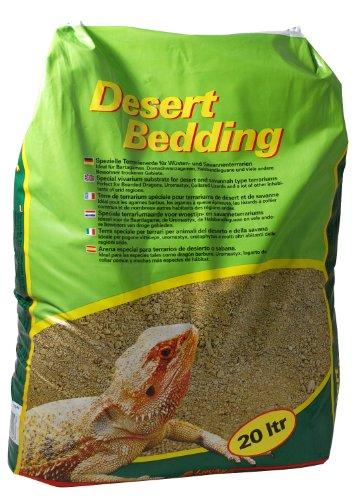 Lucky Reptile DB-20 Desert Bedding, 20 Liter, Bodengrund für Wüstenterrarien, grabfähig