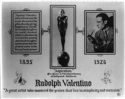 Photo: Rudolph Valentino - Where Buy To Valentino