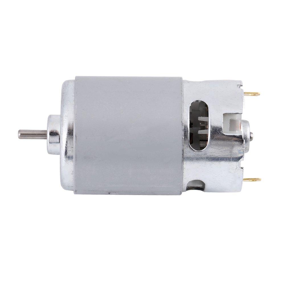 RS-550 DC 12-24V 5800 rpm Micro motor para varios taladro de mano eléctrico inalámbrico
