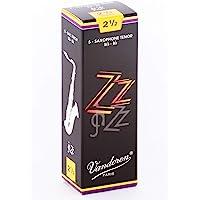 Vandoren SR4225 - Lengüeta para saxofón para saxofón tenor (dureza 2.5, pack de 5)