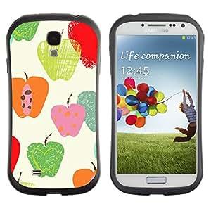Suave TPU GEL Carcasa Funda Silicona Blando Estuche Caso de protección (para) Samsung Galaxy S4 I9500 / CECELL Phone case / / Fall Pattern Autumn Nature Green /