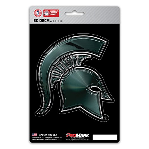 Team ProMark NCAA Michigan State Spartans 3-D Decal