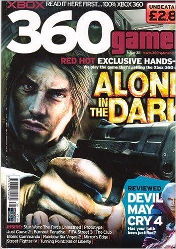 Xbox 360 Gamer Magazine Issue 38 Alone In The Dark Burnout
