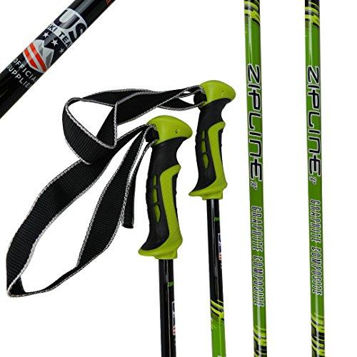 Us Olympic Ski Team (Ski Poles Carbon Composite Graphite - Zipline