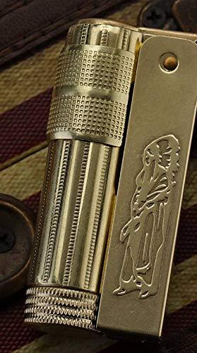 - Cigaras Cigarette Accessories - Copper Lighter Gasoline Kerosene Cigarette Lighter Oil Petrol Refillable Lighter Windproof Vintage Retro Style IMCO 6700 1 PCs