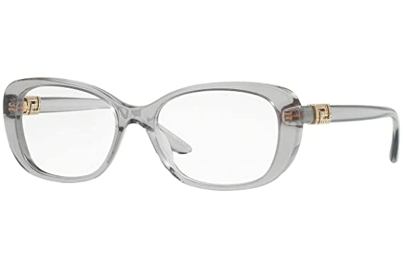 53a4971aeba Image Unavailable. Image not available for. Color  Versace VE3234B  Eyeglasses 53-16-140 Gray Crystal w Demo ...