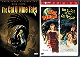 Beware the Cat's Eye Cult Horror Collection - Dario Argento's The Cat O'Nine Tails & Val Lewton Double Feature Cat People and The Curse of the Cat People 3-Movie Bundle