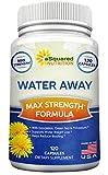 Water Away Diuretic (120 Capsules) - Herbal Water - Best Reviews Guide