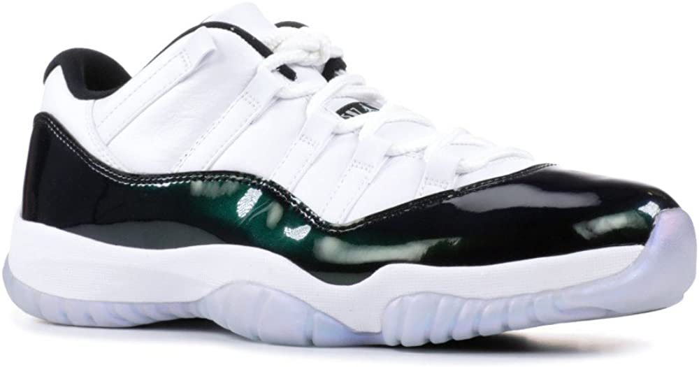 air jordan 11 retro low emerald