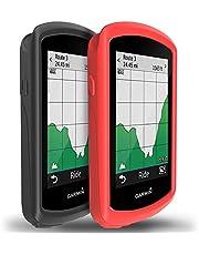 TUSITA Hoesje voor Garmin Edge 1030 Plus - Siliconen Bescherming Hoes Beschermhoes Huid - GPS Fietscomputer Accessoires
