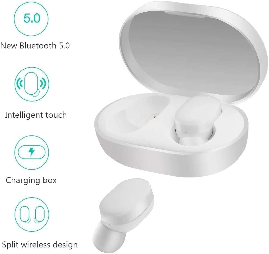 Xiaomi Mi True Wireless Auriculares internos inalámbricos con micrófono blanco