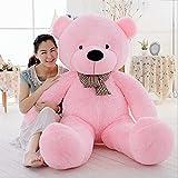 MorisMos Giant Cute Soft Toys Teddy Bear for Girlfriend Kids Teddy Bear (Pink, 55 Inch)