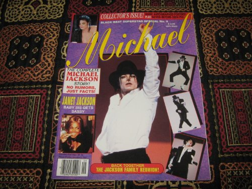 Michael Jackson , Black Beat Superstar Special #9 Magazine (Collkector's Issue , Huge Autographed Posters! , Never before Seen Pix ! , The Complete MJ Story , Janet jackson , The Jackson Family Reunion !, Number 9)