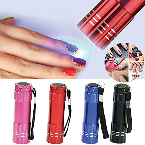 85off 4pack Gladle Mini Nail Dryer Led Uv Lamp Nail Art Tool Led
