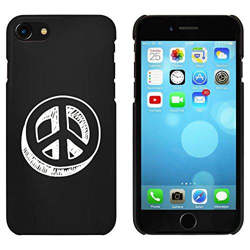 Schwarz 'Friedenszeichen' Hülle für iPhone 7 (MC00087720)