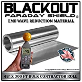 EMF RF Faraday Cage Wave Reduction Material 48'' X 300' Contractor Roll