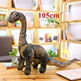 Stuffed doll 5 Styles Simulation Dinosaur Plush Toys Soft Cartoon Pillows Lifelike Tyrannosaurus for Boys Kids Birthday Gift Big Seismosaurus