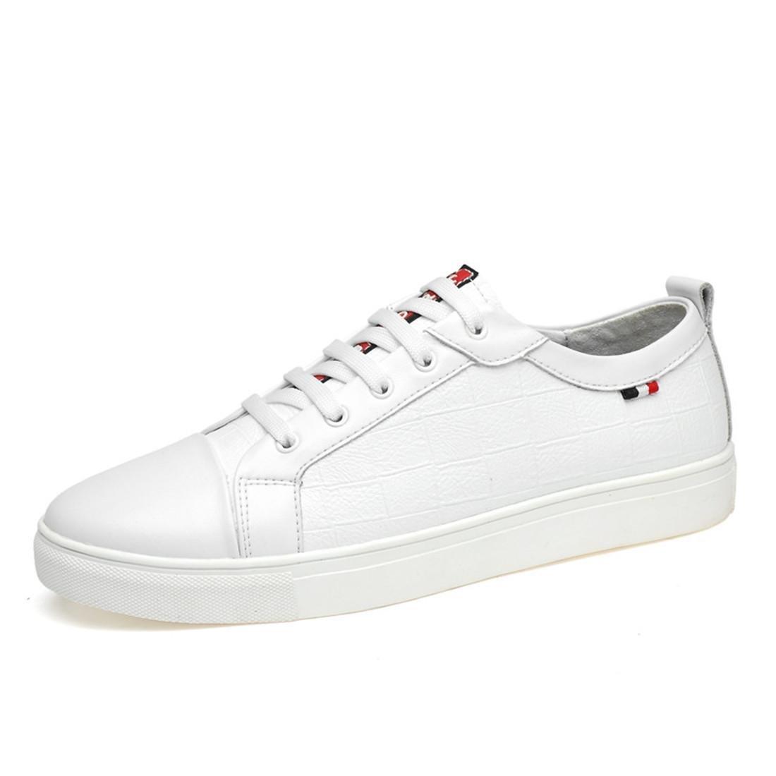 Herren Das neue Freizeit Lederschuhe Große Größe Lässige Schuhe Flache Schuhe Ausbilder EUR GRÖSSE 39-46