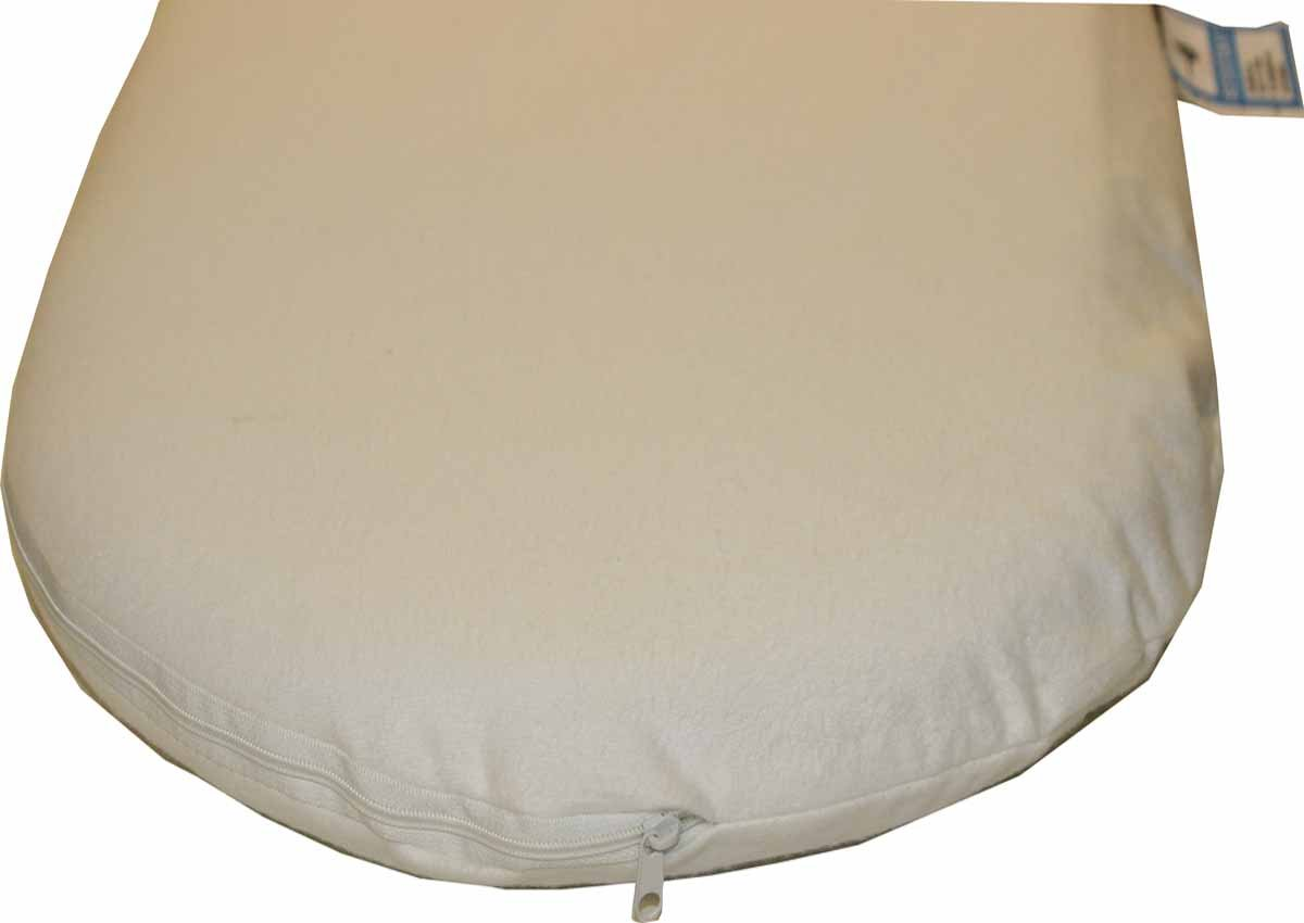 Moses Basket Foam Bassinet Baby Pram Mattress Fully Breathable Quilted UK Made