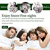 Sleep Strips 60 Pcs,Advanced Gentle Mouth Tape for