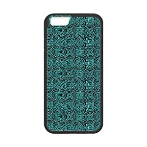 iPhone6 Plus 5.5 inch Phone Case Black Anchor Pattern MHF9922699