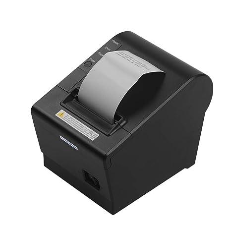 Amazon.com: Impresora térmica de recibos, Entweg GOOJPRT JP ...