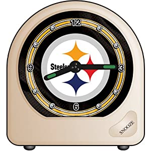 Wincraft Pittsburgh Steelers Travel Alarm Clock at SteelerMania