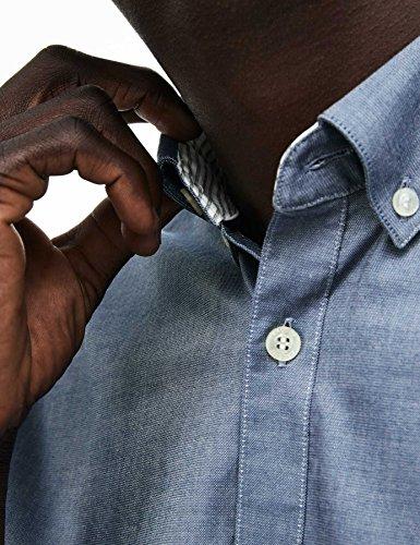 Camicia Uomo Ch9627 Formale Grigio Lacoste 50w1Fxxa