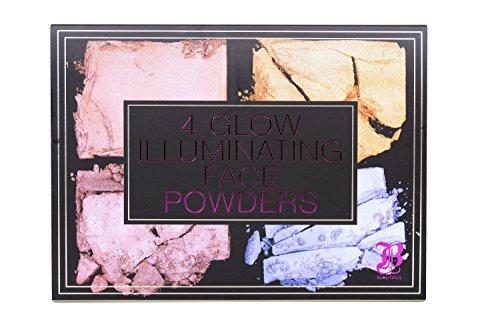 Measurable Difference Beautiful 4 Glow Illuminating Face Powders, Multi Color -