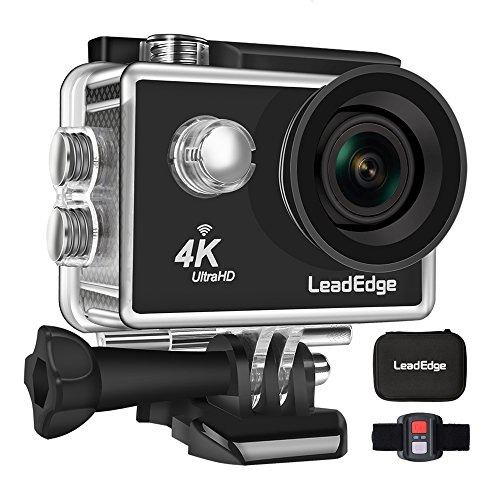 LeadEdge LE5000 Action Camera Ultra HD 4K/30FPS 1080P/60FPS