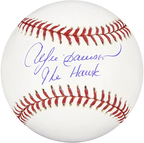 Andre Dawson Autographed MLB Baseball with The Hawk Inscription - Fanatics Authentic Certified - Autographed (Andre Dawson Autograph)