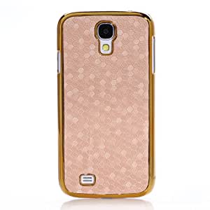 Funda para movil Samsung Galaxy S4 I9500: Color- Borde de Oro y Rosa