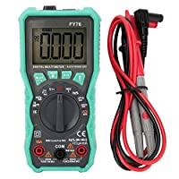 Pasamer FY76 Automatic Range Digital Multimeter 0~600V AC DC True RMS Tester with LCD Display
