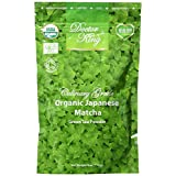 DOCTOR KING Organic Japanese Matcha Green Tea Powder - Net Weight 4 oz (114 g) - MADE IN JAPAN - Culinary Grade - Matcha Lattes, Matcha Smoothies, Baking - Fresh - Authentic - Certified organic - Tastes good - Superfood - Excellent Health Benefits