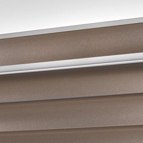 Swish Rise Cordless 25mm Aluminium Venetian Blind Champagne W75 x D180 Cm