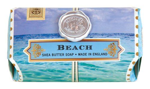 Michel Design Works 8.7-Ounce Bath Soap Bar, Beach, (Large Bar)