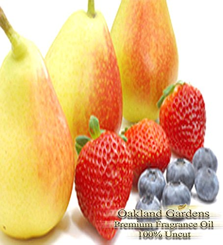 PEARBERRY Fragrance Oil - Great blend of clean pear and juicy, plump berries - By Oakland (Pear Sorbet)