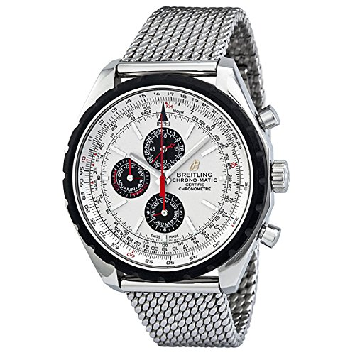 Breitling-Chrono-matic-1461-Automatic-Chronograh-Silver-Dial-Mens-Watch-A1936002-G683SS